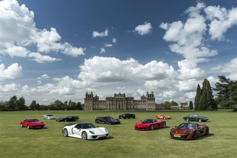 Salon Privé at Blenheim Palace