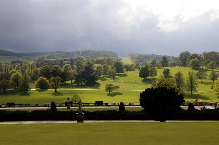 Chatsworth Park from the Garden (c. Matthew Bullen)
