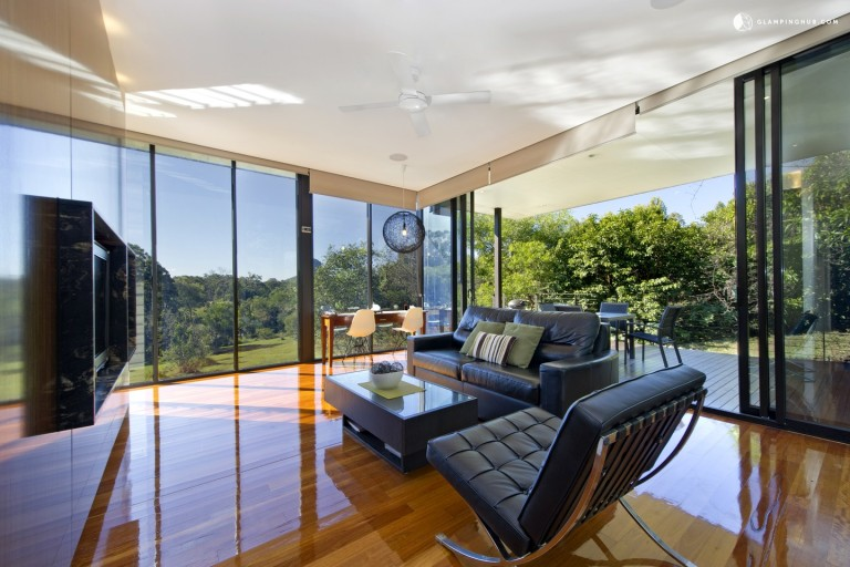 Gorgeous Glass Cabin Rentals in Bushlands of Queensland on Sunshine Coast - Glamping Hub