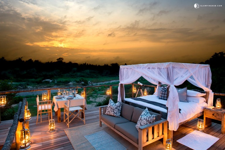 Riverside Vacation Rentals on Game Reserve in Northeastern South Africa - Glamping Hub